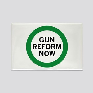 Gun Reform Now Rectangle Magnet