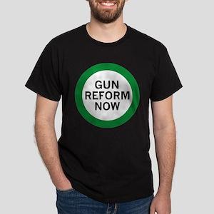 Gun Reform Now Dark T-Shirt