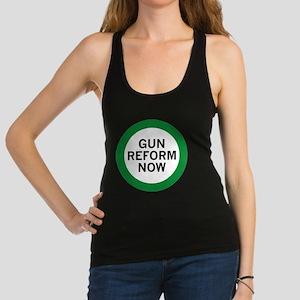 Gun Reform Now Racerback Tank Top