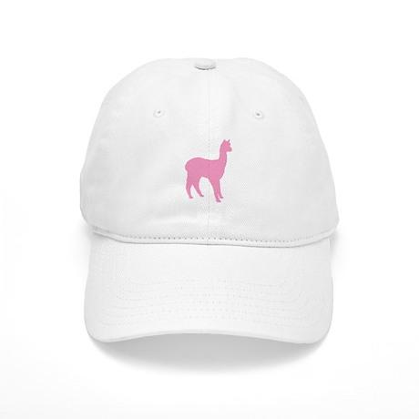 pink standing alpaca Cap