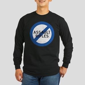 Ban Assault Rifles Long Sleeve Dark T-Shirt