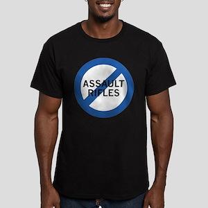 Ban Assault Rifles Men's Fitted T-Shirt (dark)