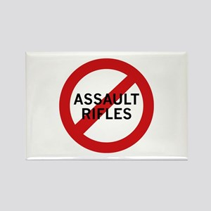 Ban Assault Rifles Rectangle Magnet