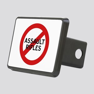 Ban Assault Rifles Rectangular Hitch Cover