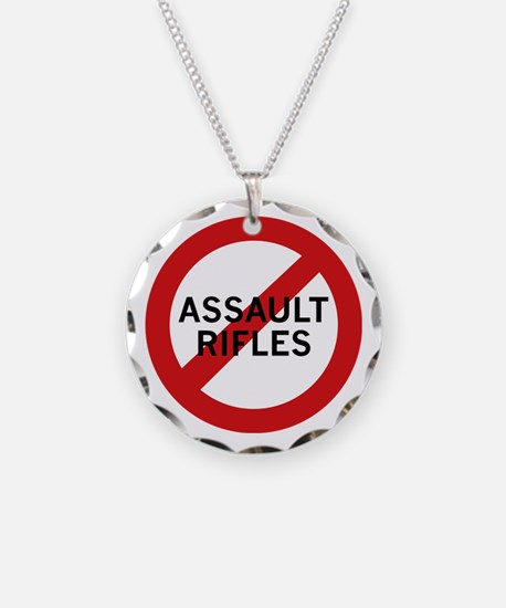 Ban Assault Rifles Necklace