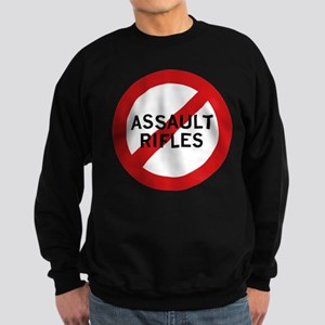 Ban Assault Rifles Sweatshirt (dark)