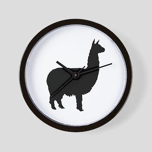 alpaca Wall Clock