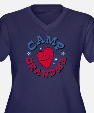 Camp Grandma Plus Size T-Shirt