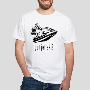 Jet Ski White T-Shirt