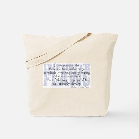 Infinite Flaws Tote Bag