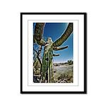 Cactus Framed Panel Print