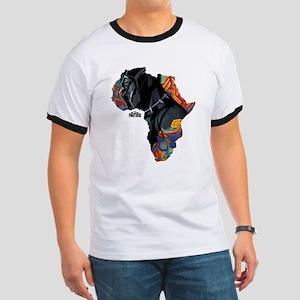 Black Panther Africa Ringer T