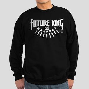 Black Panther Future King Sweatshirt (dark)