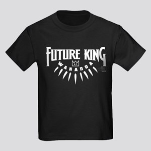 Black Panther Future King Kids Dark T-Shirt
