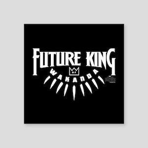 "Black Panther Future King Square Sticker 3"" x 3"""