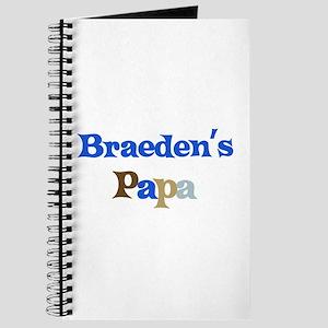 Braeden's Papa Journal
