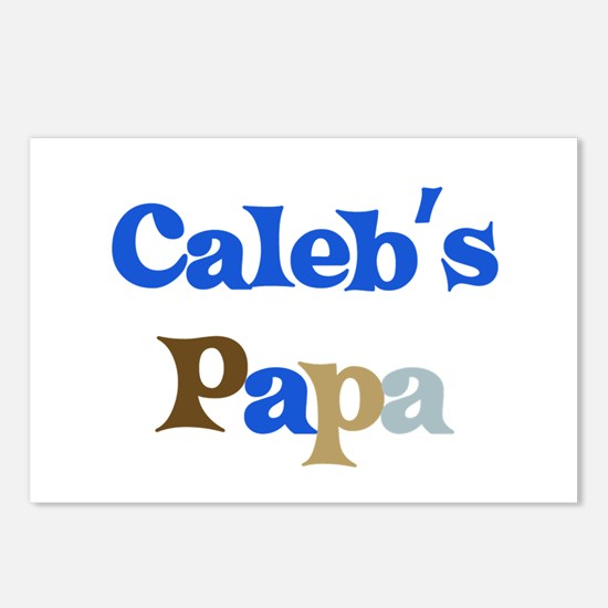 Caleb's Papa Postcards (Package of 8)
