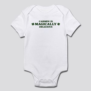 Carmen is delicious Infant Bodysuit