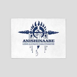 Anishinaabe 5'x7'Area Rug
