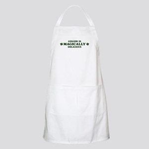 Ginger is delicious BBQ Apron