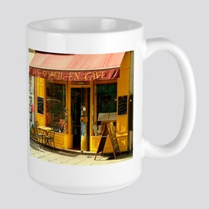 Paris Cafe Large Mug