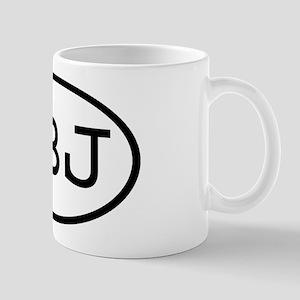 LBJ Oval Mug