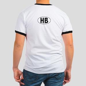 HB - Huntington Beach Ringer T