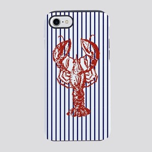 nautical stripes vintage lob iPhone 8/7 Tough Case
