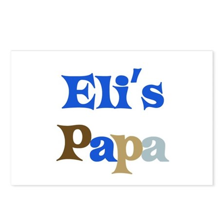 Eli's Papa Postcards (Package of 8)