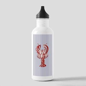 nautical stripes vinta Stainless Water Bottle 1.0L