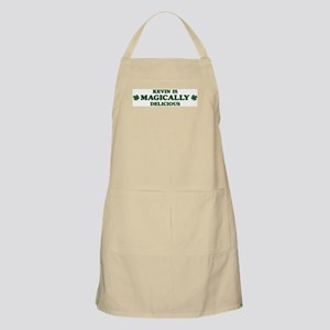 Kevin is delicious BBQ Apron