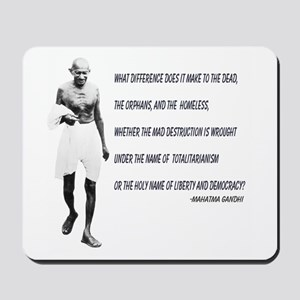 Mousepad - Ghandhi Quote