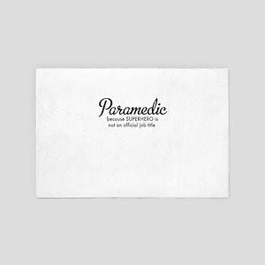 paramedic 4' x 6' Rug