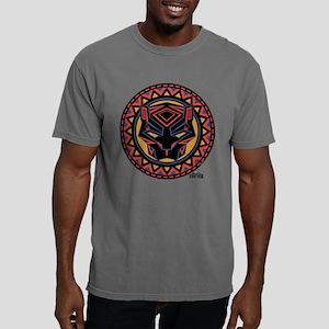 Black Panther Circle Mas Mens Comfort Colors Shirt