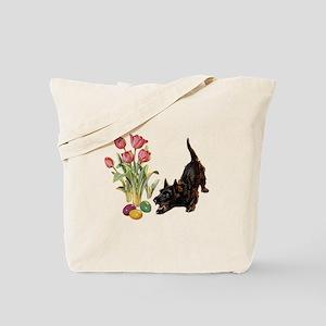 EASTER SCOTTIE Tote Bag