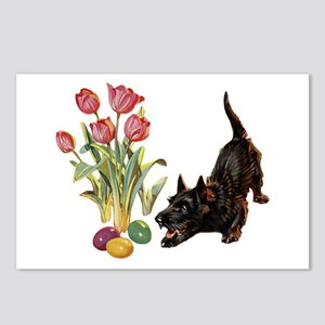 EASTER SCOTTIE Postcards (Package of 8)
