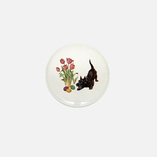 EASTER SCOTTIE Mini Button