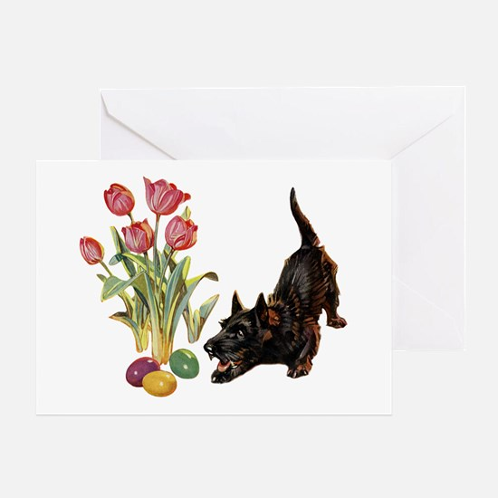 EASTER SCOTTIE Greeting Card