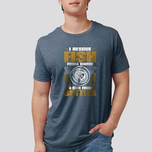 Fishing And Beer Drinking T Shirt T-Shirt