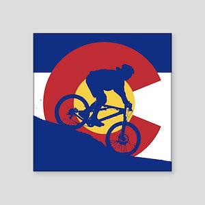 Biking in Colorado Sticker