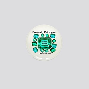 Emerald Princess Island Gems - Mini Button