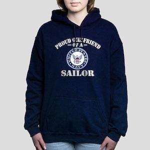 Proud Girlfriend Of A US Women's Hooded Sweatshirt