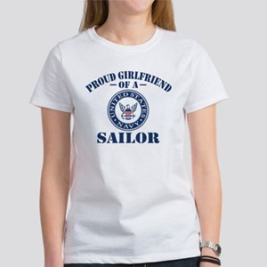 Proud Girlfriend Of Women's Classic White T-Shirt