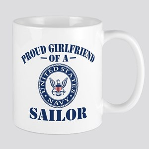 Proud Girlfriend Of A US Navy Sailor Mug
