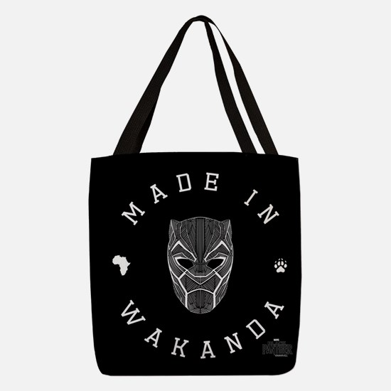 Black Panther Made Polyester Tote Bag