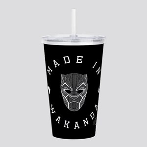 Black Panther Made Acrylic Double-wall Tumbler