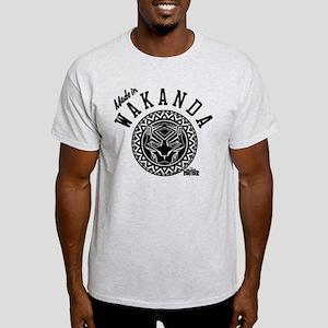 Black Panther Made Circle Light T-Shirt