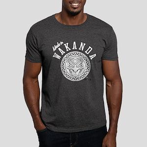Black Panther Made Circle Dark T-Shirt