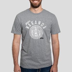 Black Panther Made Circle Mens Tri-blend T-Shirt