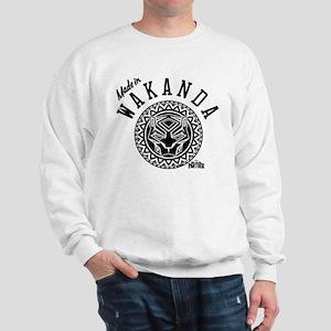 Black Panther Made Circle Sweatshirt